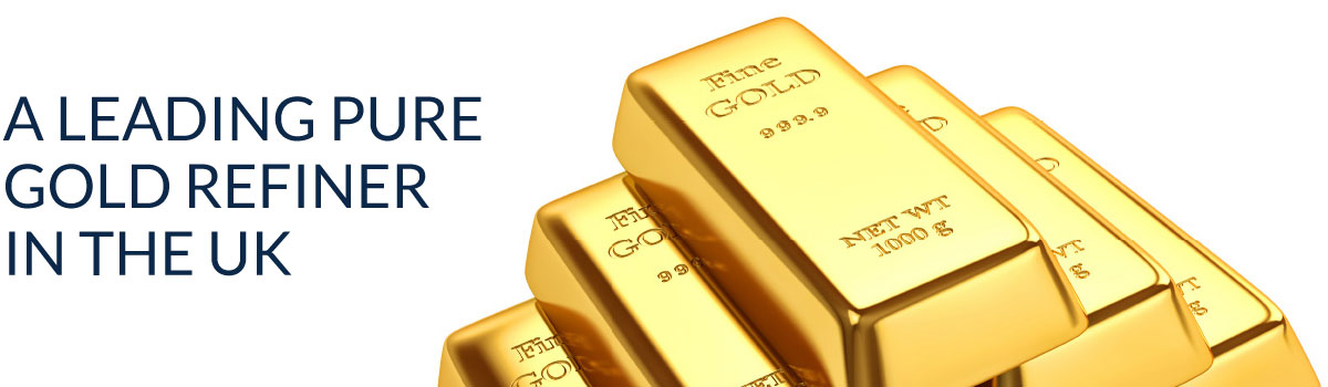 A leading pure gold refiner in the UK